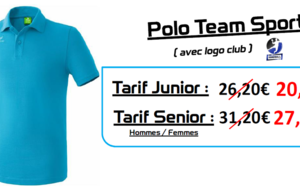 Polo Team Sport ERIMA Enfant
